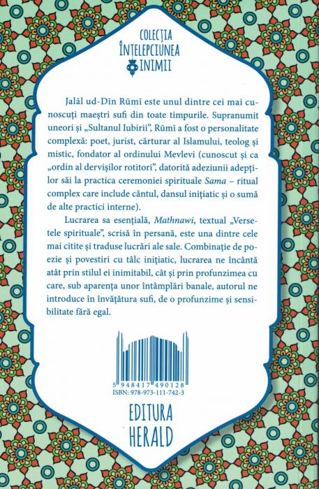 Mathnawi. Poeme, parabole si invataturi sufite - Rumi [1]