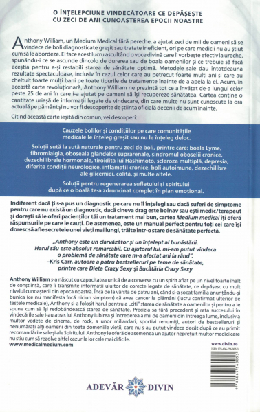 Medium medical. Secretele din spatele bolilor cronice si misterioase si cum te poti vindeca in sfarsit - Anthony William [1]