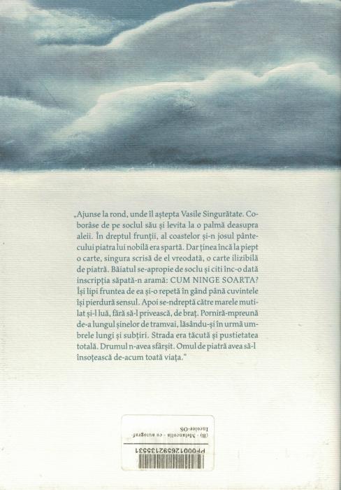 Carte cu AUTOGRAF. Melancolia. Mircea Cartarescu [1]