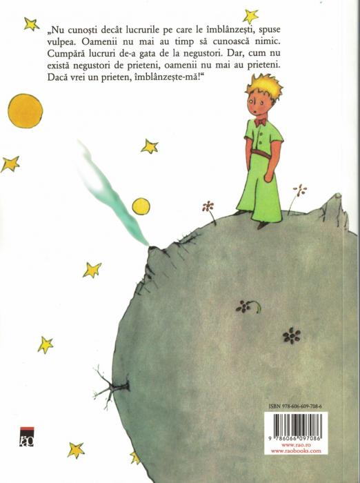 Micul print.Cu ilustratiile autorului - Antoine de Saint - Exupery [1]