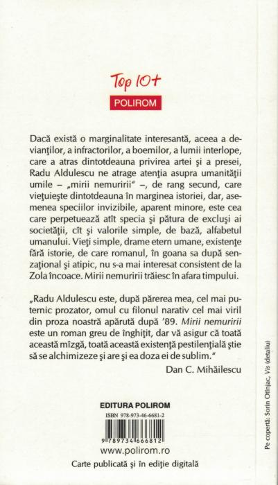 Mirii nemuririi - Radu Aldulescu [1]