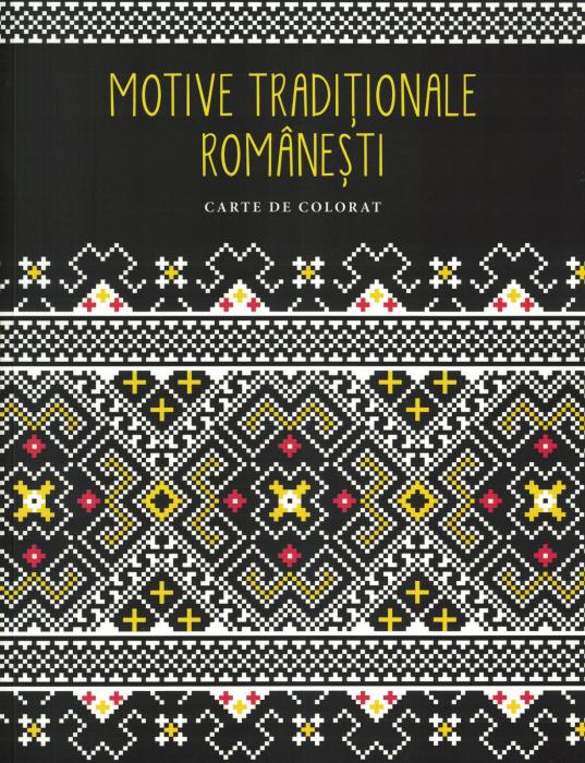 Motive traditionale romanesti. Carte de colorat [0]
