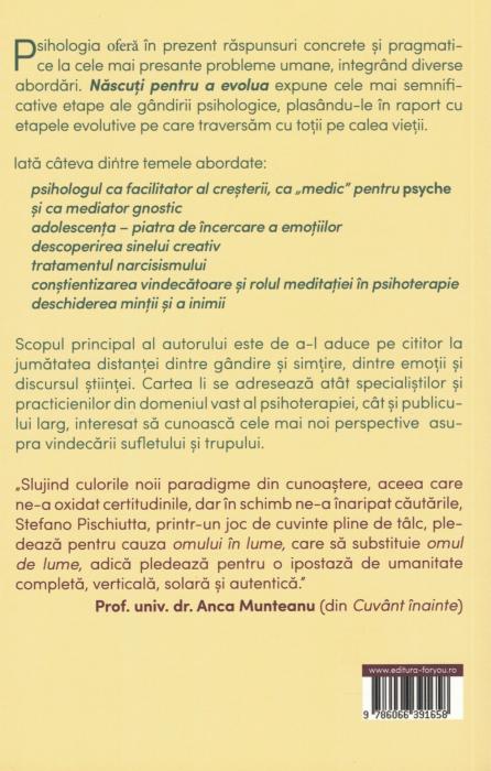 Nascuti pentru a evolua - Stefano Pischiutta [1]