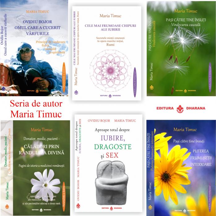 Maria Timuc - Pachet de autor (6 carti) [0]