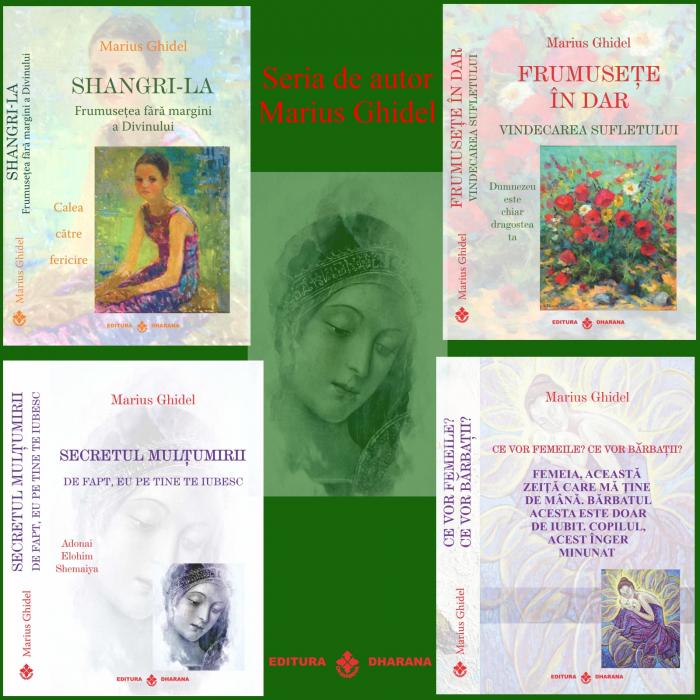 Pachet de autor (4 carti): Marius Ghidel [0]