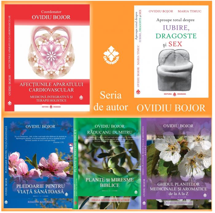 Pachet de autor (5 cărți): Ovidiu Bojor - Editura Dharana [0]