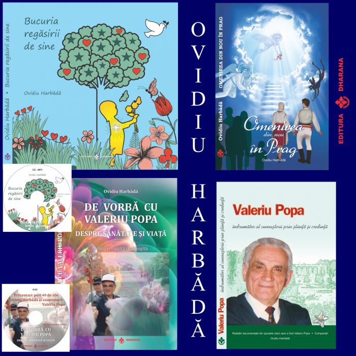Pachet de autor (4 carti) - Ovidiu Harbada [0]