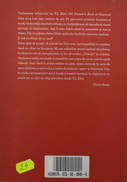 Pisicoteca practita a lu Mos Parsu - T.S. Eliot [1]
