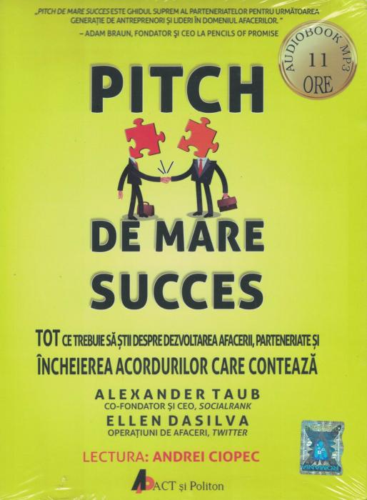Pitch de mare succes. AUDIOBOOK CD MP3 - Alexander Taub, Ellen Dasilva [0]