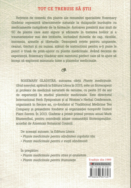 Plante medicinale pentru boli comune - Rosemary Gladstar [1]