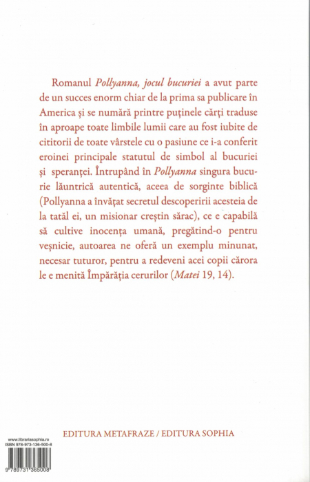 Pachet Pollyanna ( 6 Volume) - Eleanor H. Porter , H.L.Smith [2]