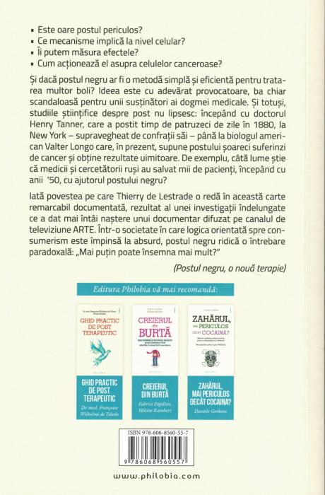 Postul negru. O noua terapie - Thierry Lestrade [1]
