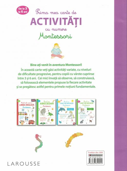 Prima mea carte de activitati cu numere. Montessori [1]