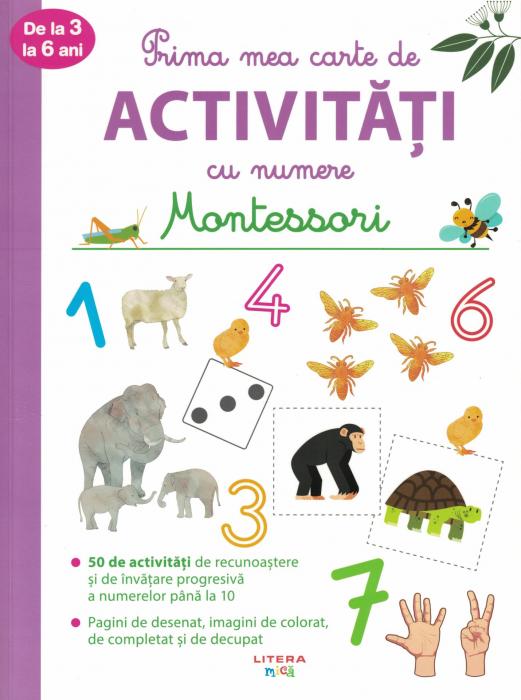 Prima mea carte de activitati cu numere. Montessori [0]