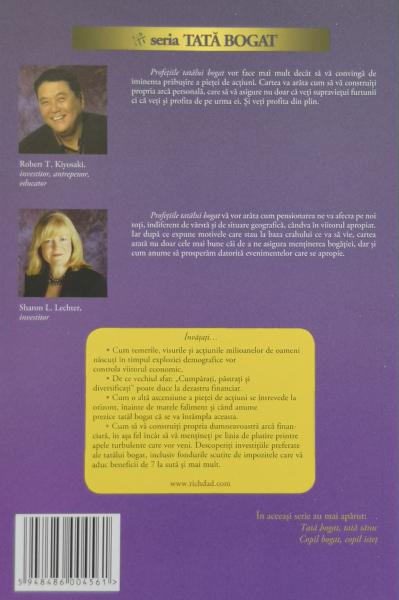 Profetiile tatalui bogat - Robert T. Kiyosaki , Sharon L. Lechter [1]