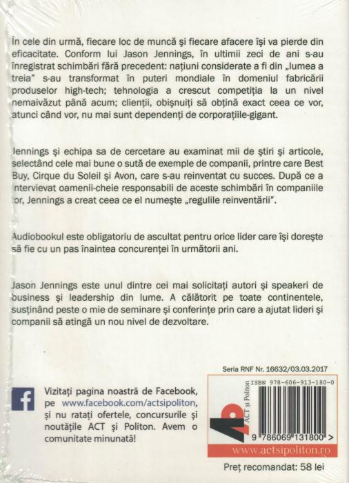 Reinventatorii. AUDIOBOOK  CD  MP3 - Jason  Jennings [1]