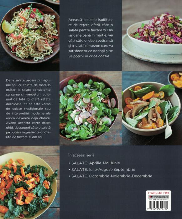 Salate, o reteta pentru fiecare zi din an. Vol. 1 - Georgeanne Brennan [1]