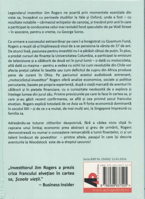 Scoala vietii. AUDIOBOOK CD MP3 - Jim Rogers [1]