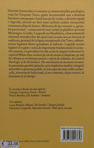 Scrisori din casa de nebuni - Torquato Tasso [1]