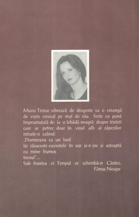 Si Dumnezeu Dumnezeieste pe aici - Maria Timuc [1]