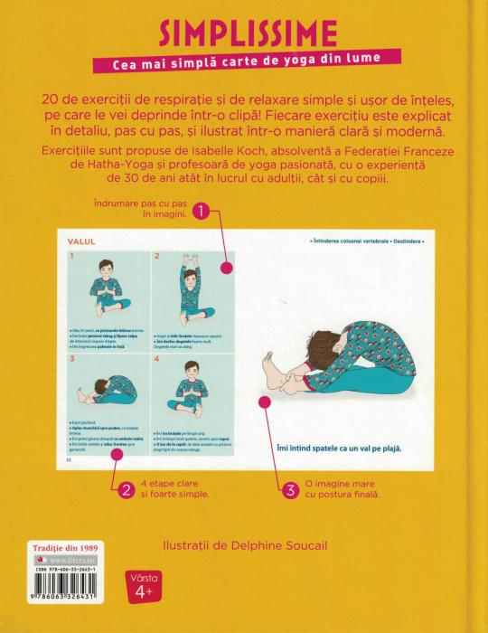 Simplissime. Cea mai simpla carte de yoga din lume [1]