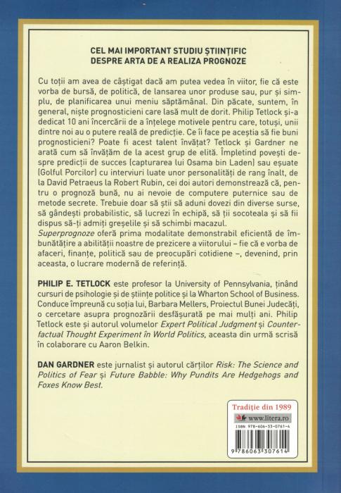 Superprognoze. Arta si stiinta predictiei - Philip E. Tetlock, Dan Gardner [1]
