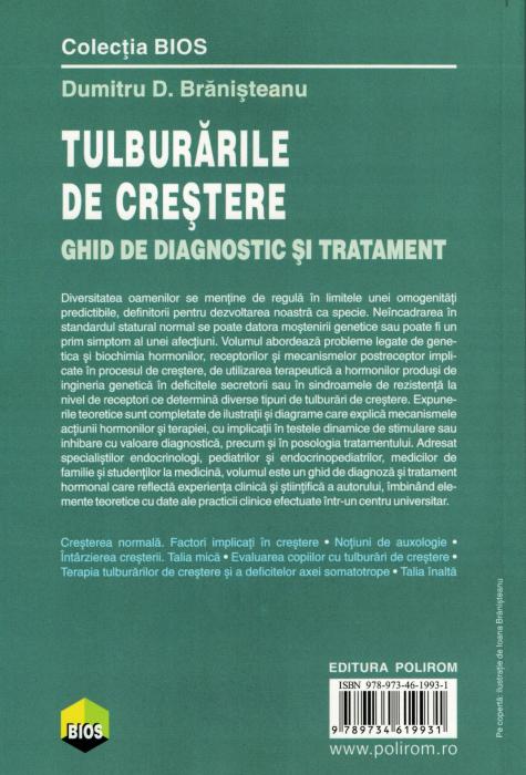 Tulburari de crestere. Ghid de diagnostic si tratament - Dumitru D. Branisteanu [1]