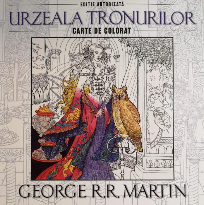 Urzeala tronurilor. Carte de colorat - George R. R. Martin [0]