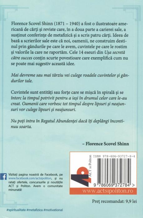 Usa secreta catre succes - Florence Scovel Shinn [1]