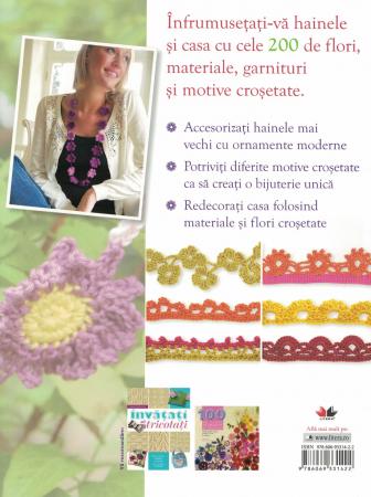 200 de flori si alte accesorii crosetate - Claire Crompton [1]
