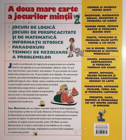 A doua mare carte a jocurilor mintii. 300 de jocuri perspicace - Ivan Moscovich [1]