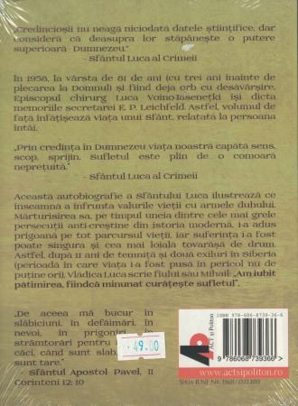 Am iubit patimirea. AUDIOBOOK  CD  MP3 - Sfantul Luca al Crimeii [1]