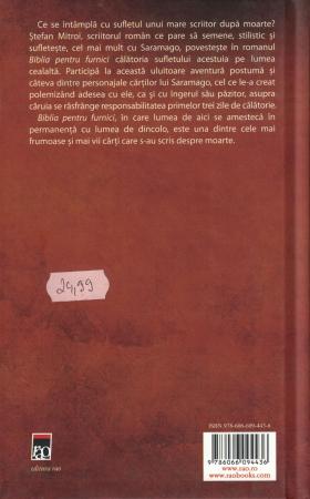 Biblia pentru furnici - Stefan Mitroi [1]