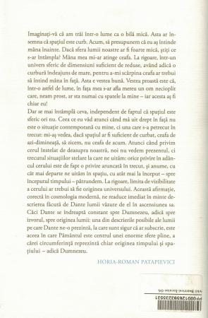 Carte cu AUTOGRAF. Ochii Beatricei. Cum arata cu adevarat lumea lui Dante? - Horia Roman Patapievici [1]