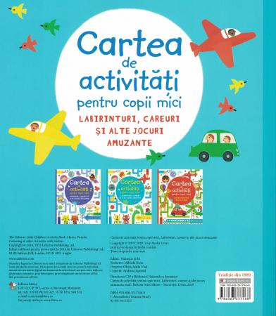 Cartea de activitati pentru copii mici. - [1]