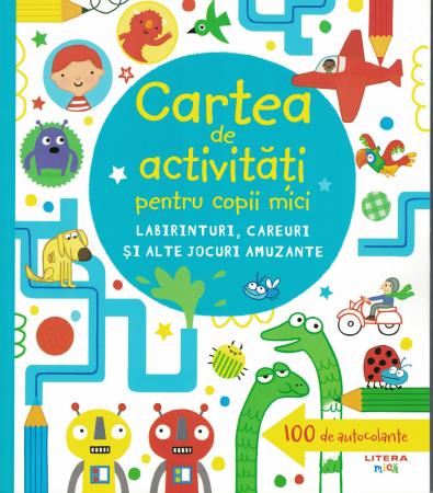 Cartea de activitati pentru copii mici. - [0]