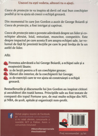Casca de protectie. AUDIOBOOK  CD  MP3 - Jon Gordon [1]