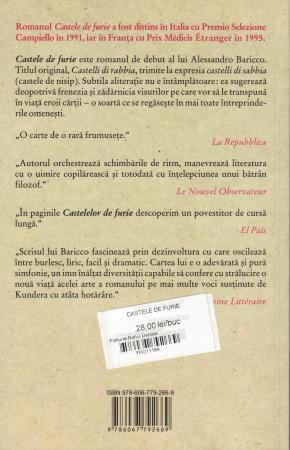 Castele de furie - Alessandro Baricco [1]