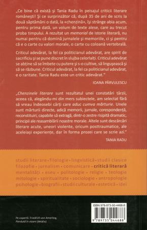 Chenzine literare - Tania Radu [1]