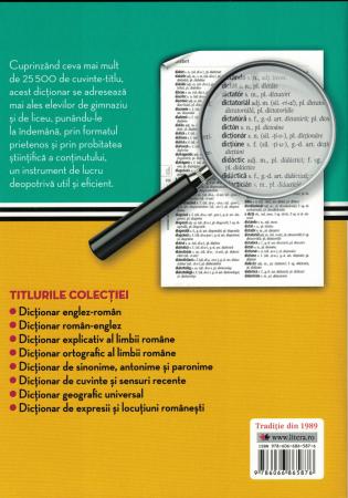 Dictionar ortografic al LIMBII ROMANE [1]