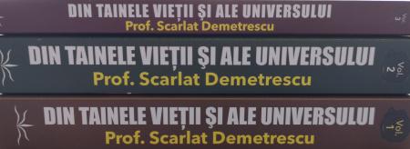 Din tainele vietii si ale universului, Set  3 vol. Versiune originala din 1939 - Scarlat Demetrescu [2]