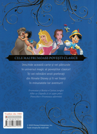 Disney. Povesti de aur. Cele mai frumoase povesti clasice - Disney [1]