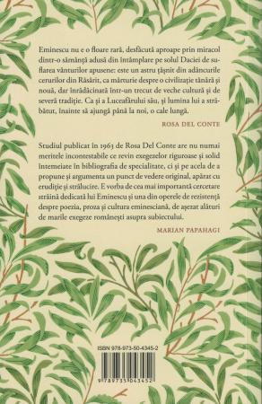 Eminescu sau despre absolut - Rosa Del Conte [1]