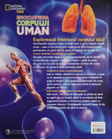 Enciclopedia corpului uman. O incursiune extraordinara prin corpul tau - National Geographic [1]