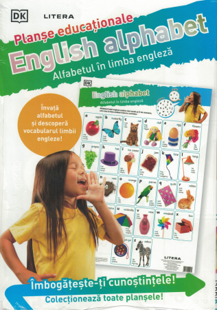 English alphabet. Alfabetul in limba engleza [0]