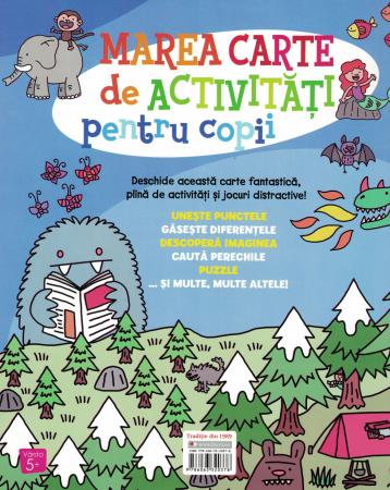 Marea carte de Activitati pentru copii - Jess Bradley [1]