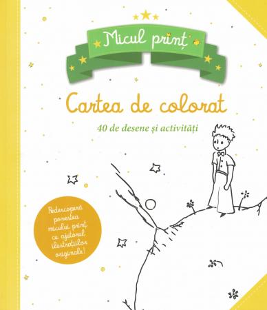 Micul Print. Cartea de colorat. 40 de desene si activitati [0]