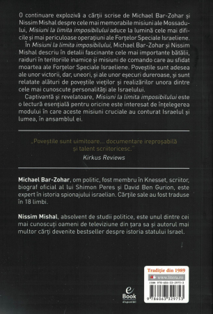 Misiuni la limita imposibililui - Michael Bar-Zohar, Nissim Mishal [1]