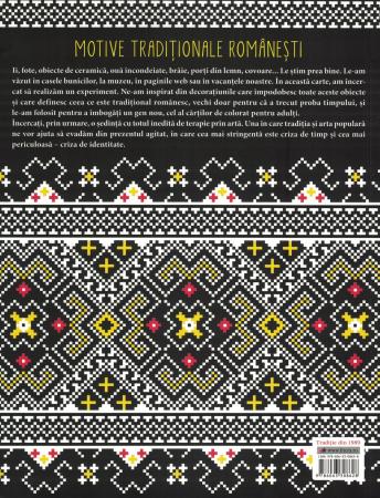 Motive traditionale romanesti. Carte de colorat [1]