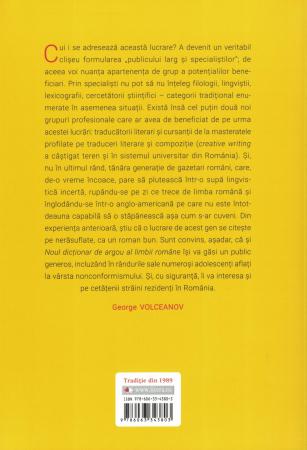 Noul dictionar de argou al limbii romane - George Volceanov, George-Paul Volceanov [1]